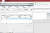 Ms Access Employee Expense And Reimbursement Reports Database