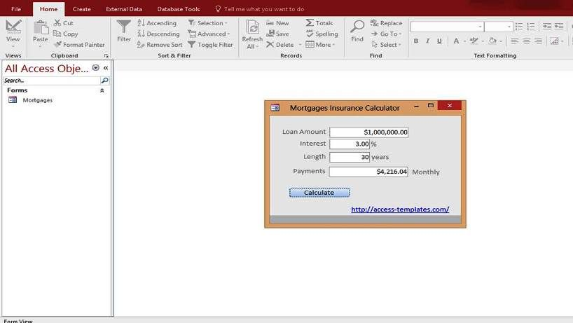 ms access templates 2013 - download and microsoft access templates database and examples