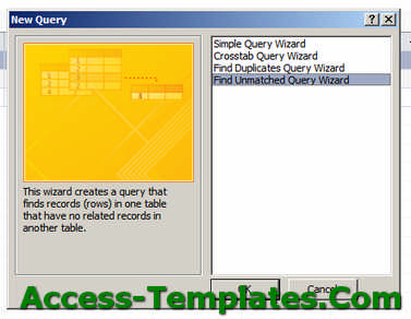 Types of Query in MS Access