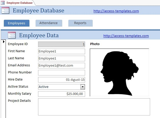 Access Database Templates for Employee Scheduling