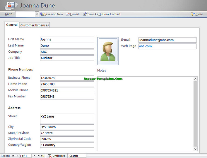 access database billing software for small business templates tutorial