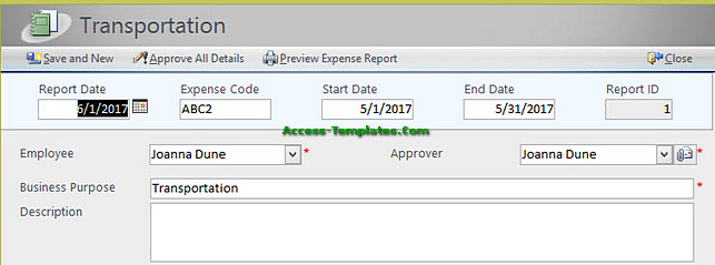 expense report software for small business