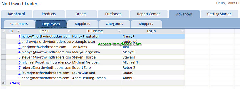 Access Templates Inventory Tracker for Small Business (3)