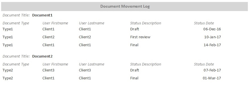Document Organizer and File Management Template for Microsoft Access Database Software - 10