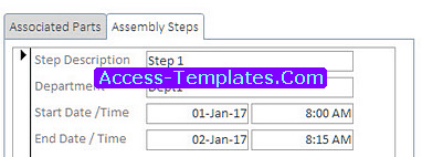 Work Measurement Templates Access